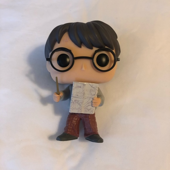 Harry Potter with Marauders Map Funko Pop